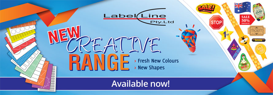 New Creative Range! Fresh new colours and shapes