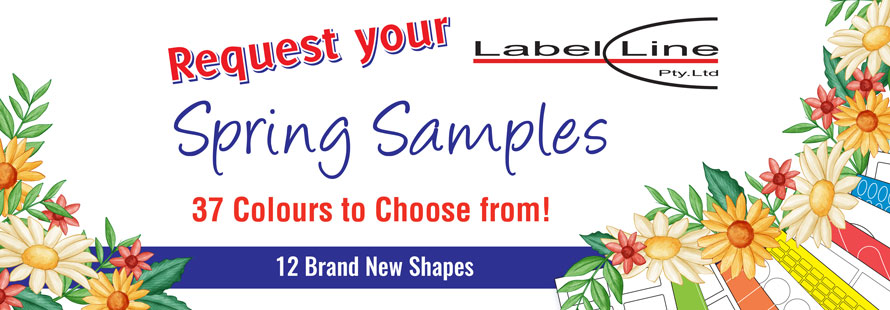 Request your Spring Samples - 37 colours to choose from!