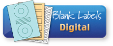 A4 Blank Labels Fully Centred Digital Range